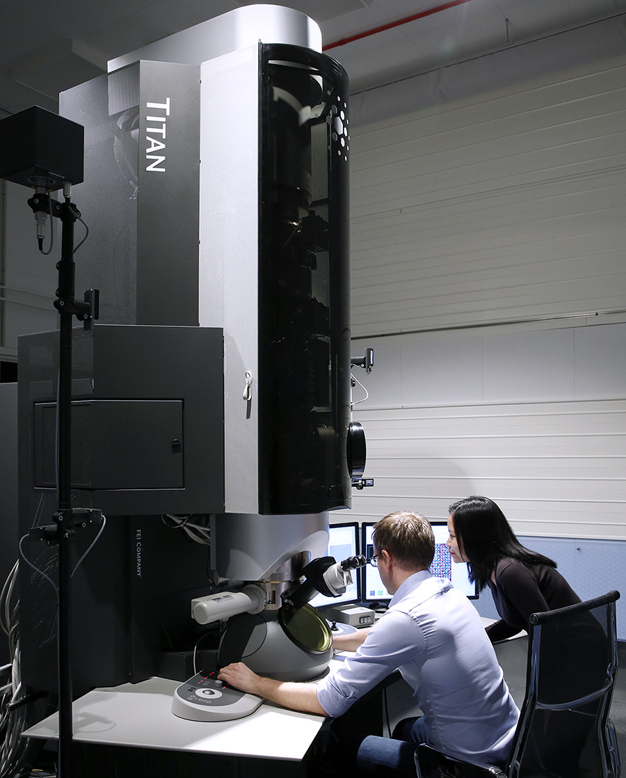 The FEI Titan G2 60-300 microscope at UiO